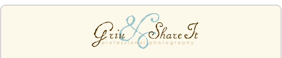 Grin and Share It Photography logo